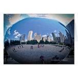 """The Bean"" - Millennium Park Chicago Note Card"