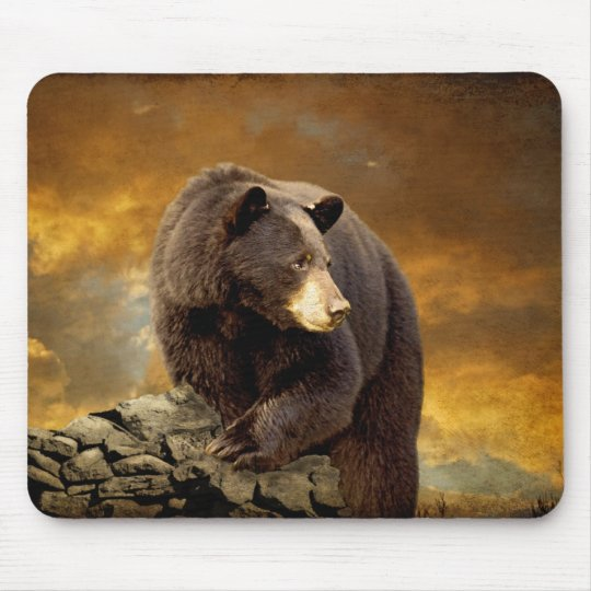 The Bear Went Over The Mountain - Mousepad