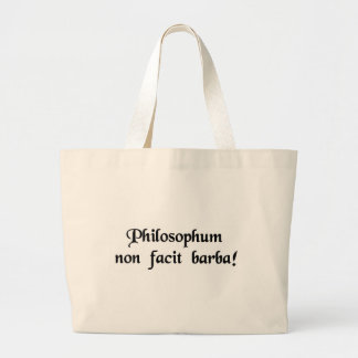The beard does not define a philosopher bags