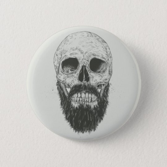 The beard is not dead 6 cm round badge