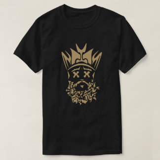 The Bearded King- New Orleans Saints Shirt