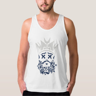 The Bearded King Tank- Dallas Cowboys Tank Top