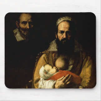 The Bearded Woman Breastfeeding, 1631 Mouse Mat