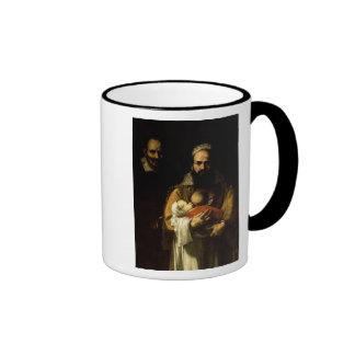 The Bearded Woman Breastfeeding, 1631 Ringer Coffee Mug