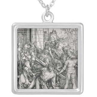 The Bearing of the Cross Silver Plated Necklace