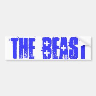 the beast bumper sticker