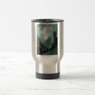 the beast returns fantasy dragon stainless steel travel mug