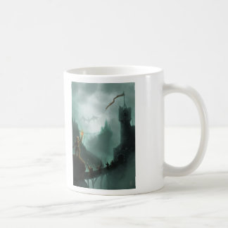the beast returns fantasy dragon basic white mug