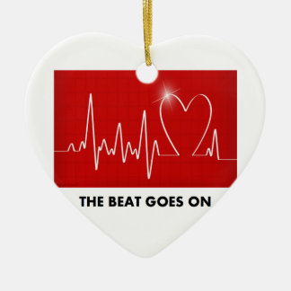 The Beat Goes On - Post-Heart Surgery Christmas Ornament