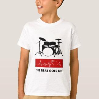 The Beat of a Drummer's Heart T-Shirt