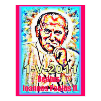 The beatification of John Paul II - 2011-05-1 Postcard