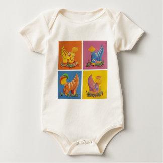 The Beatles Sgt Pepper Baby Bodysuit