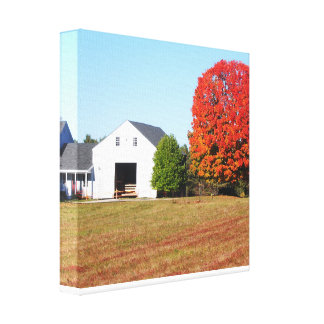 The beautiful Changing Colors in Maine Canvas Print