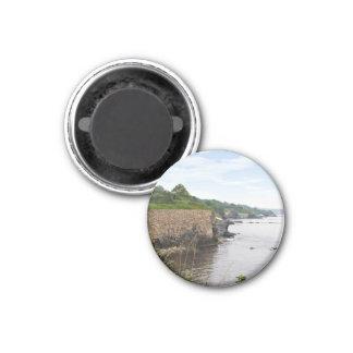 The beautiful coast of Newport Rhode Island 3 Cm Round Magnet