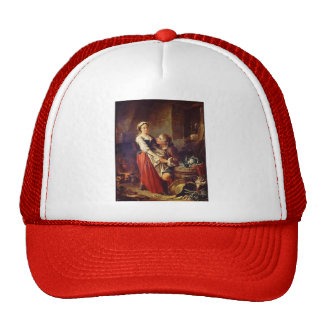 Thebeautifulkitchen by Francois Boucher Trucker Hat