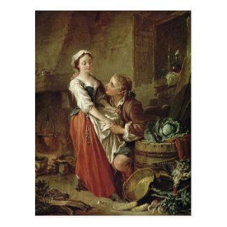 The Beautiful Kitchen Maid Postcard