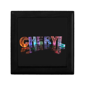 The Beautiful Name Cheryl in 3D Lights Gift Box