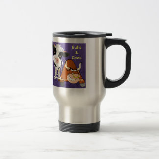 The beautiful one and the beast Cowstyle cup Stainless Steel Travel Mug