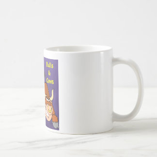 The beautiful one and the beast Cowstyle Mugs