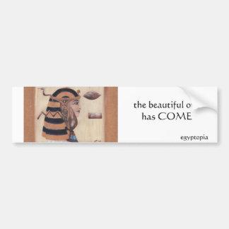 The Beautiful One Bumper Sticker