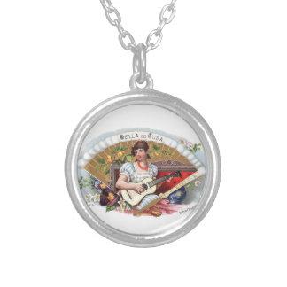 The Beautiful one of Cuban Vintage Cuba Round Pendant Necklace