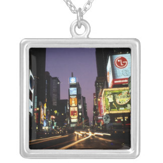 The beauty color and energy of famous Times Silver Plated Necklace