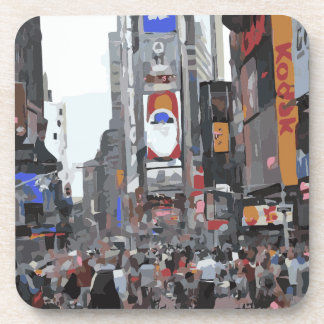 The Beauty of a City Beverage Coaster