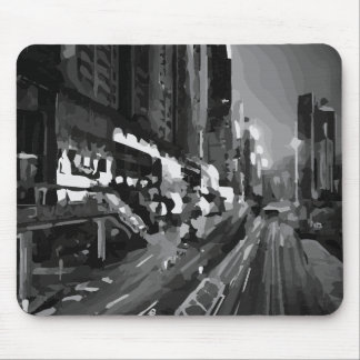 The Beauty of a City Mouse Pads
