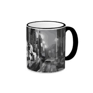 The Beauty of a City Ringer Mug