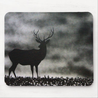 The beauty of a stag mouse pad
