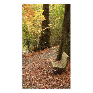 The Beauty of Autumn bookmark Double-Sided Standard Business Cards (Pack Of 100)