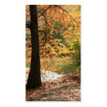 The Beauty of Autumn bookmark Pack Of Standard Business Cards