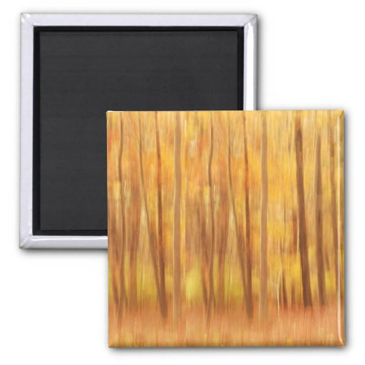 the beauty of Autumn Refrigerator Magnet
