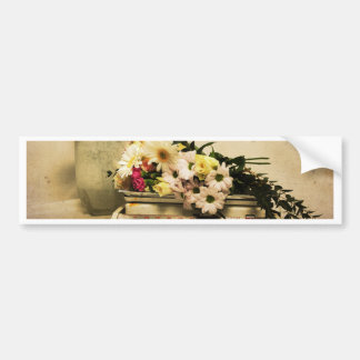 The Beauty of Flowers Bumper Sticker