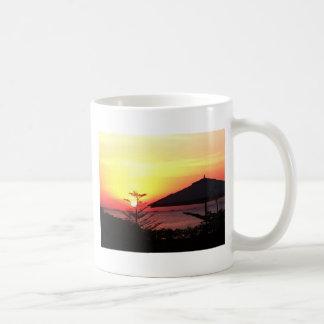 The Beauty of the Sunset View Basic White Mug