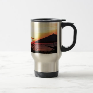 The Beauty of the Sunset View Stainless Steel Travel Mug