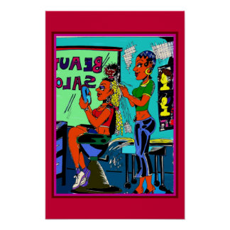 The Beauty Salon Posters
