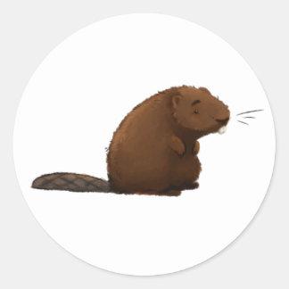 The Beaver Classic Round Sticker