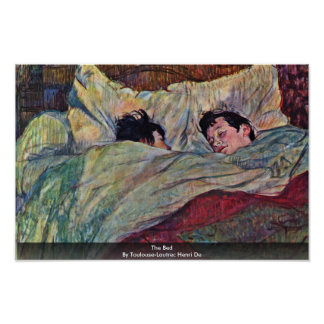 The Bed By Toulouse-Lautrec Henri Print