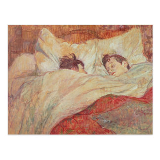 The Bed, c.1892-95 Postcard