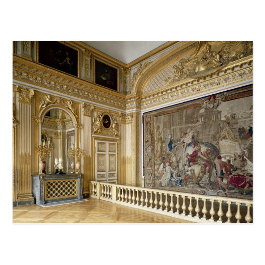 The bedchamber of Louis XIV Postcard