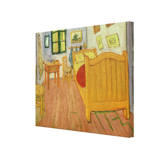 The Bedroom 1888 oil on canvas Gallery Wrapped Canvas