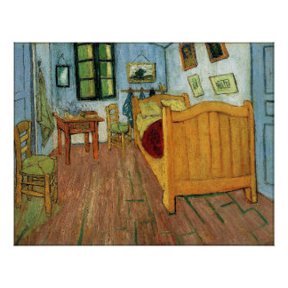 The Bedroom at Arles Print