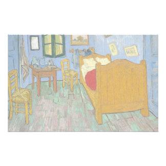 The Bedroom by Vincent Van Gogh 14 Cm X 21.5 Cm Flyer