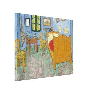 The Bedroom by Vincent Van Gogh Canvas Prints