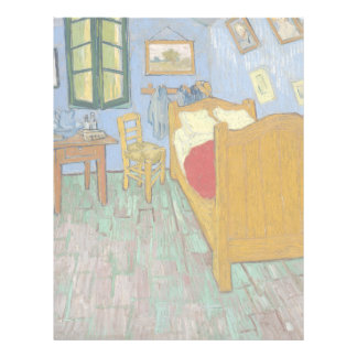 The Bedroom by Vincent Van Gogh Full Color Flyer