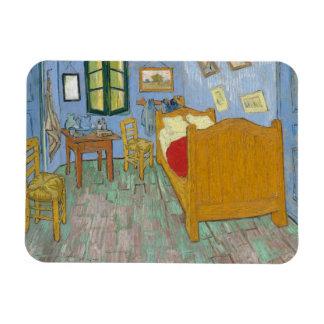 The Bedroom by Vincent Van Gogh Rectangular Magnet