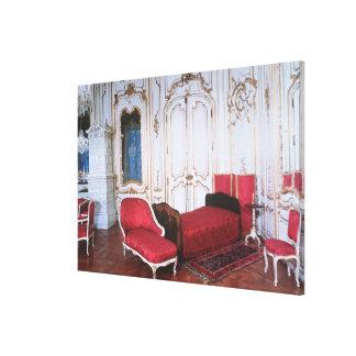 The Bedroom of Elizabeth of Bavaria Gallery Wrap Canvas