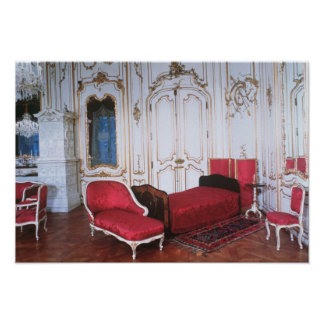 The Bedroom of Elizabeth of Bavaria Poster