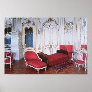 The Bedroom of Elizabeth of Bavaria Poster